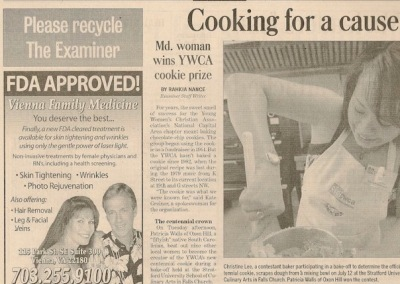 YWCA newspaper article